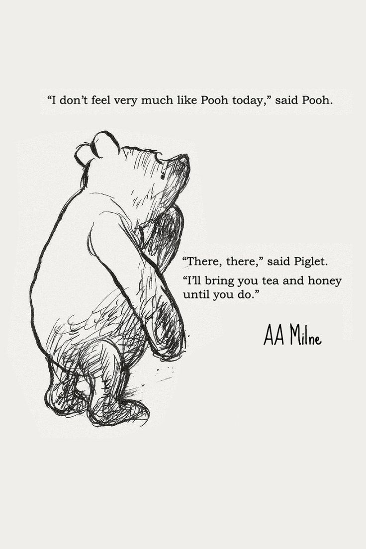 Pooh Quotes About Friendship Day 16 Hitting A Wall  Seven Hundred & Thirty Days